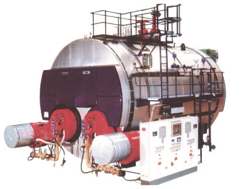 热马型双炉胆整装蒸汽锅炉