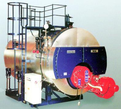 热马型单炉胆整装蒸汽锅炉