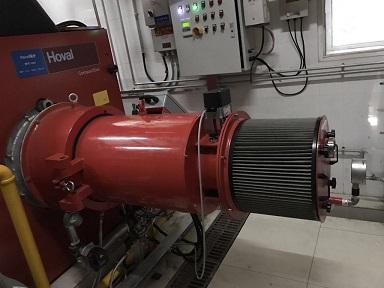 0.35-14MW全预混金属表面燃烧器(NOx<30mg/Nm<sup>3</sup>)